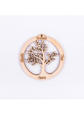 Ξύλινο Δέντρο με Ευχές - ΝΤ-892274