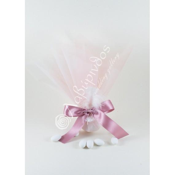 Μπομπονιέρα Γάμου Κλασική με Φτερό - LWG-11262