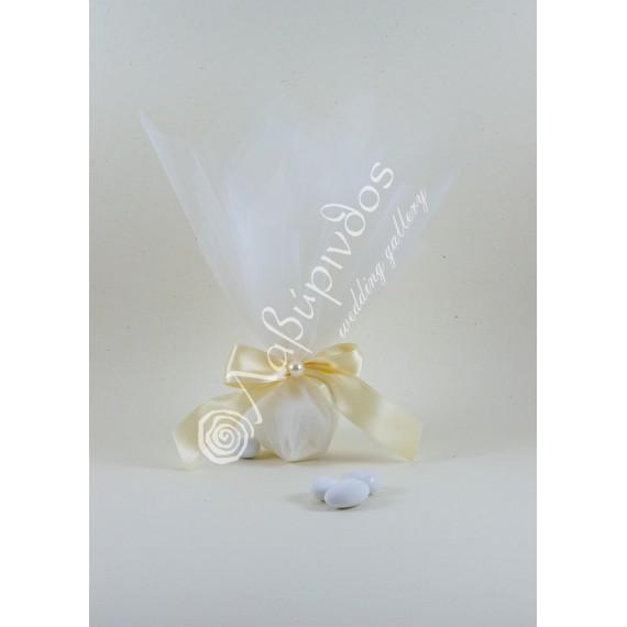 Μπομπονιέρα Γάμου Κλασική με Πέρλα - LWG-11263