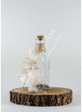 Μπομπονιέρα Γάμου Μπουκαλάκι - LWG-113214