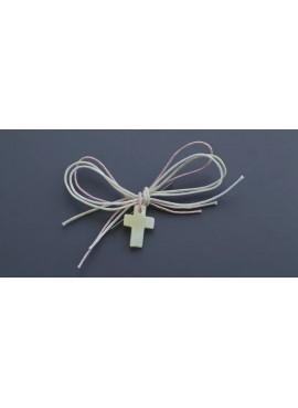 Μαρτυρικά Βάπτισης Καρφίτσα Σταυρός (50 τμχ) - NV-NU1513