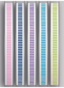 Κορδέλα Γκρο Δίχρωμη Με Ρίγα 10 mm - PE-14253