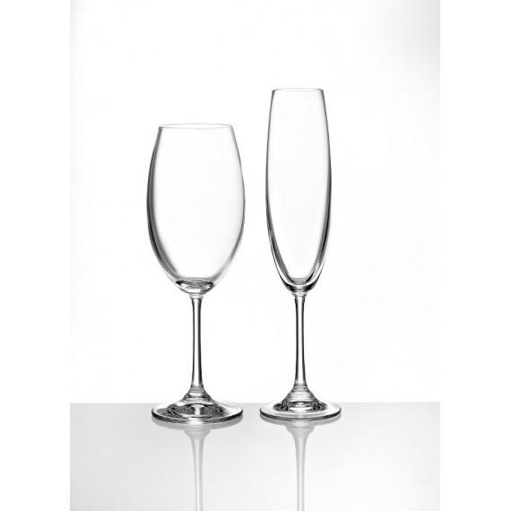 Κρυστάλλινο Ποτήρι Γάμου Κρασιού / Σαμπάνιας - BT-132