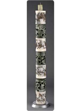 Λαμπάδα Γάμου με εφτά αποσπώμενα κεριά - NK7E