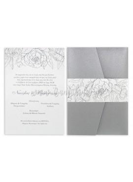 Προσκλητήριο Γάμου 7715 - TS-7715