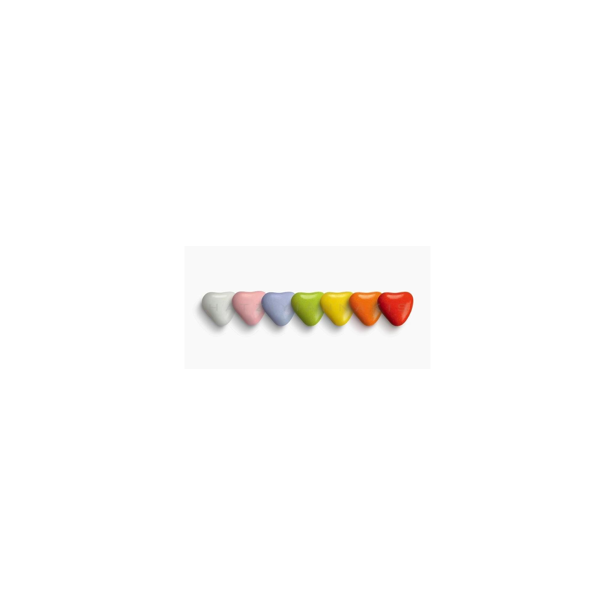 Κουφέτο Σοκολάτας Καρδουλίτσα Πολύχρωμη - LWG-X1251