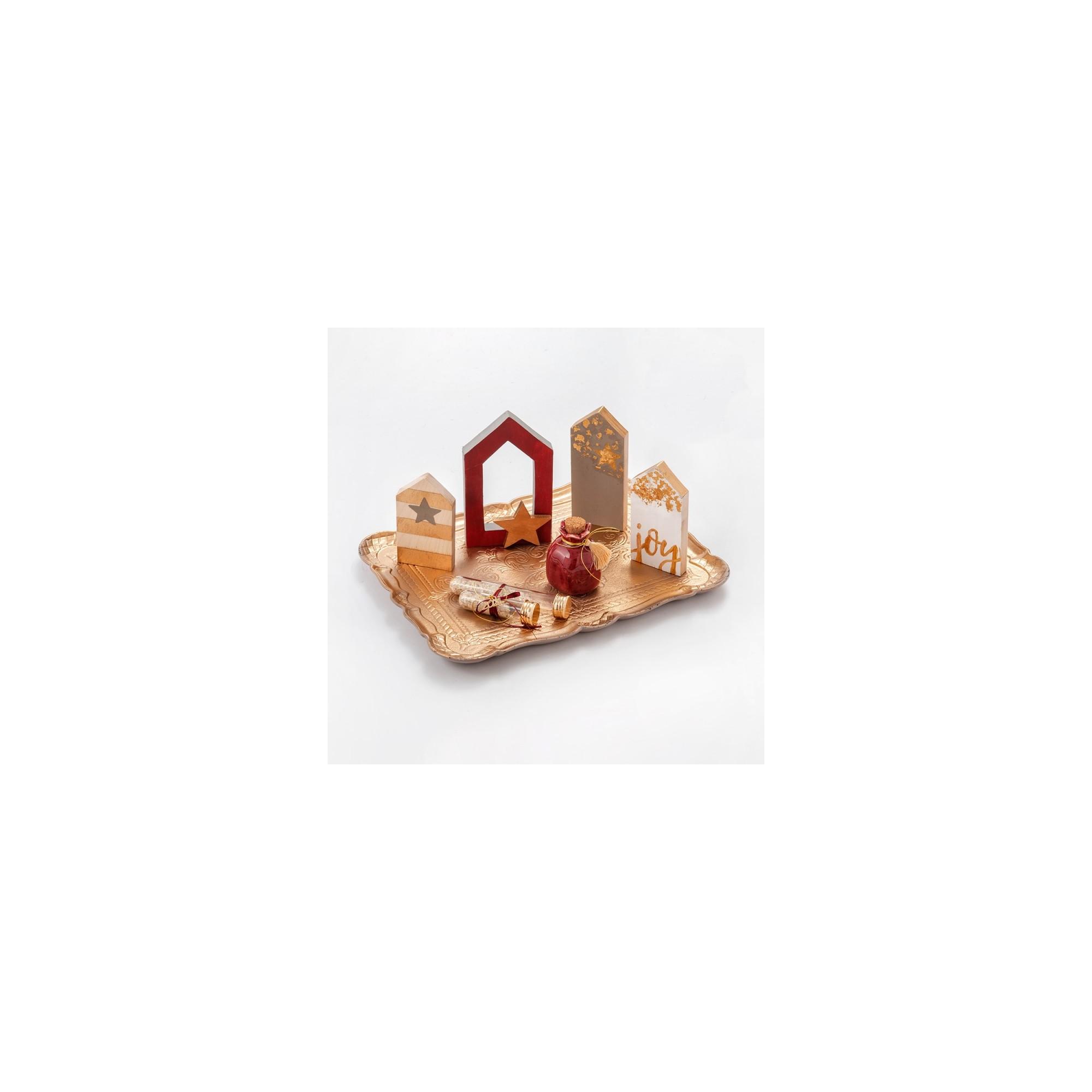 Χριστουγεννιάτικη σύνθεση τραπεζιού - PAR-19220