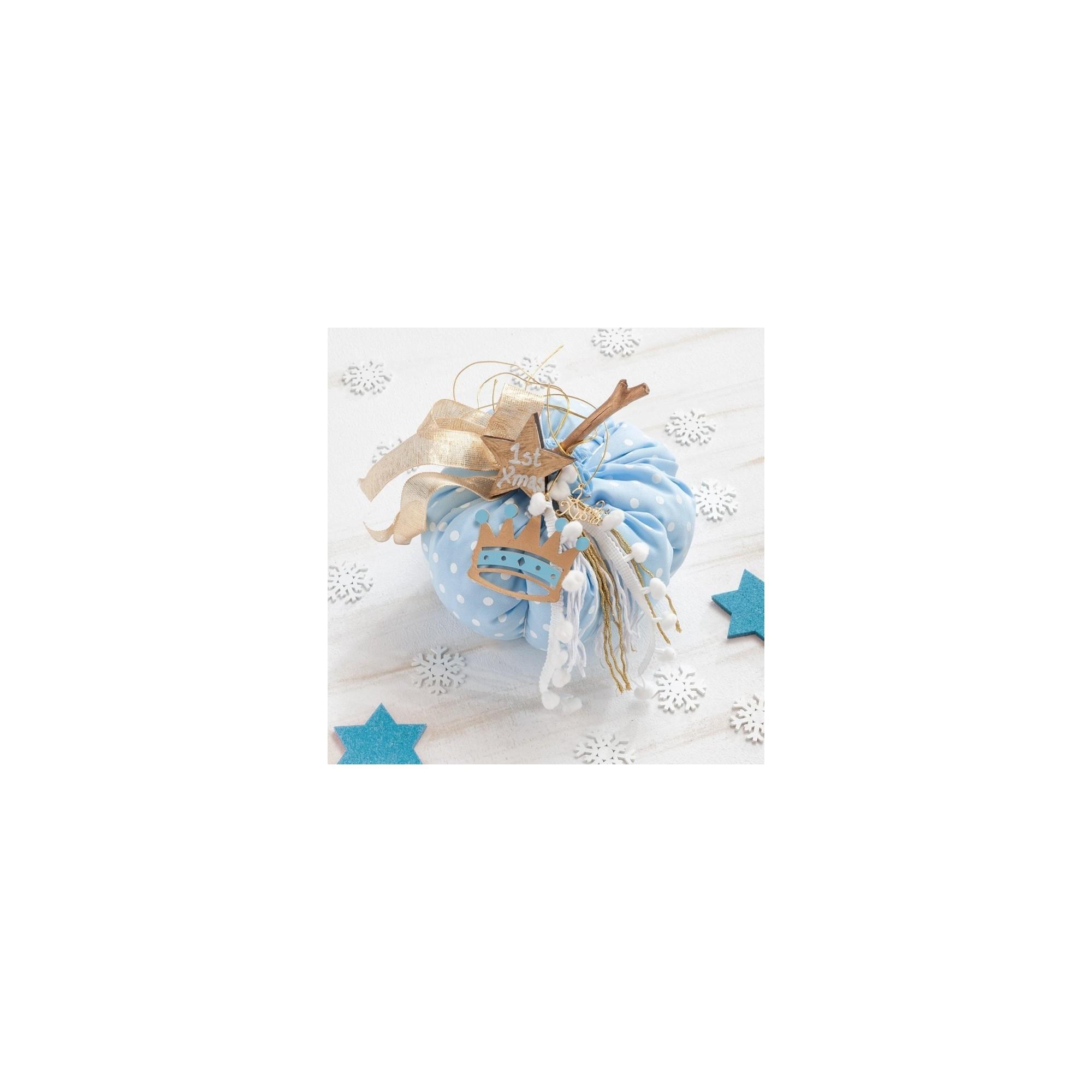 Χριστουγεννιάτικη Διακοσμητική κολοκύθα - PAR-14807