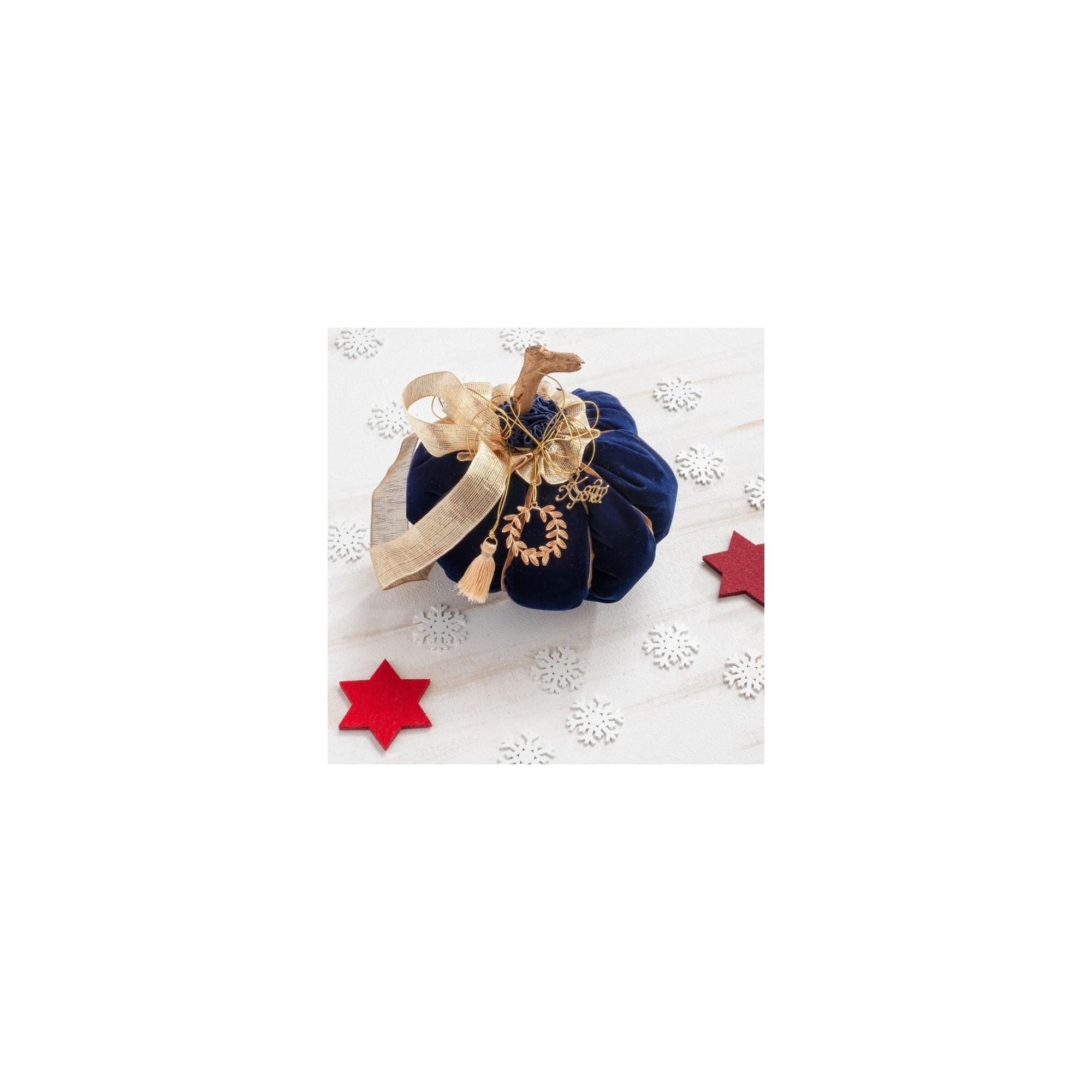 Χριστουγεννιάτικη Διακοσμητική κολοκύθα - PAR-14806