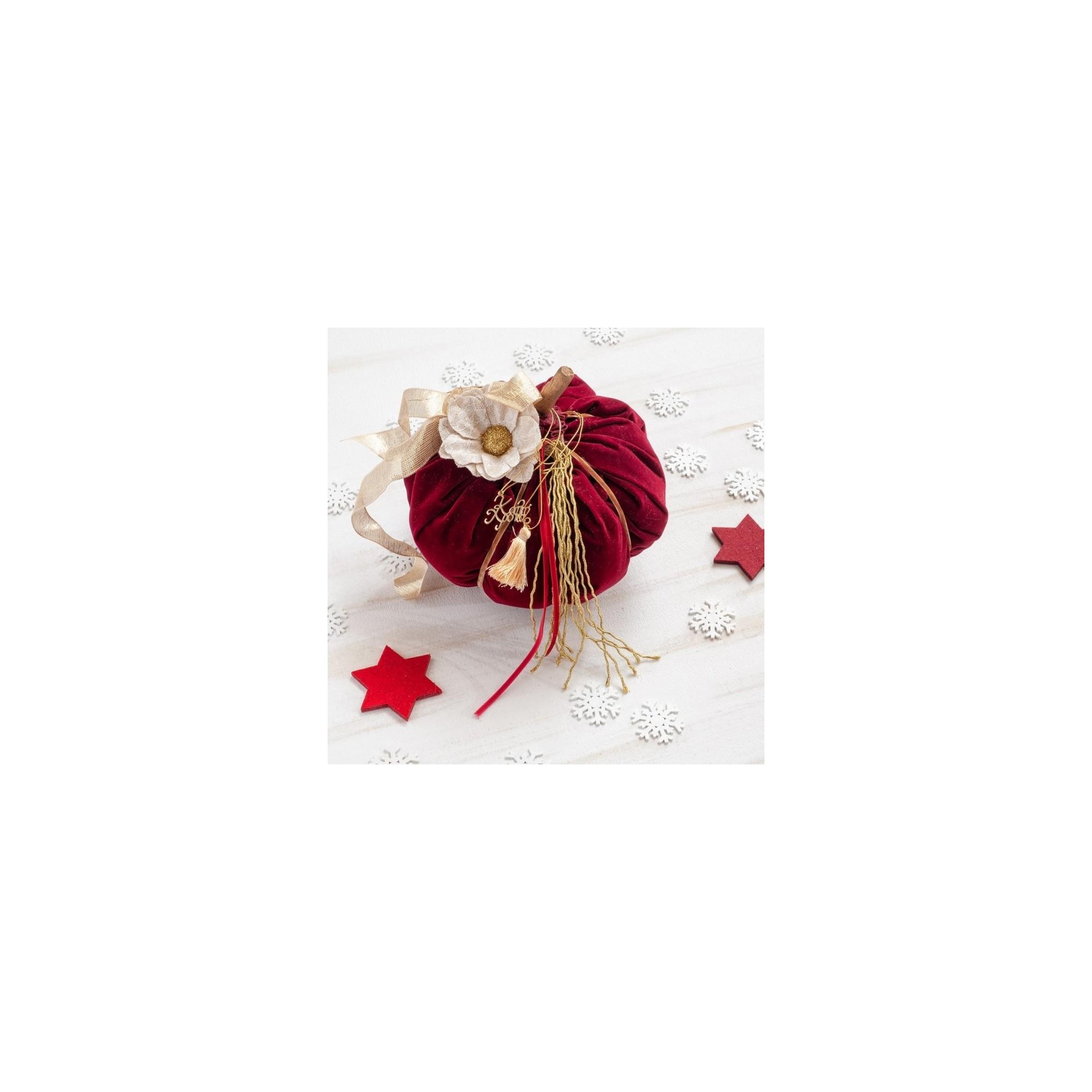 Χριστουγεννιάτικη Διακοσμητική κολοκύθα - PAR-14804