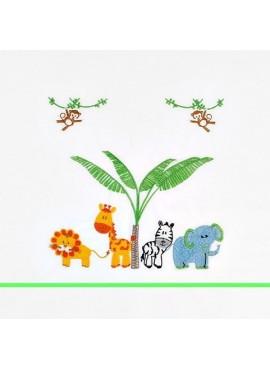 Λαδόπανα Ζώα του δάσους - BL-LA140
