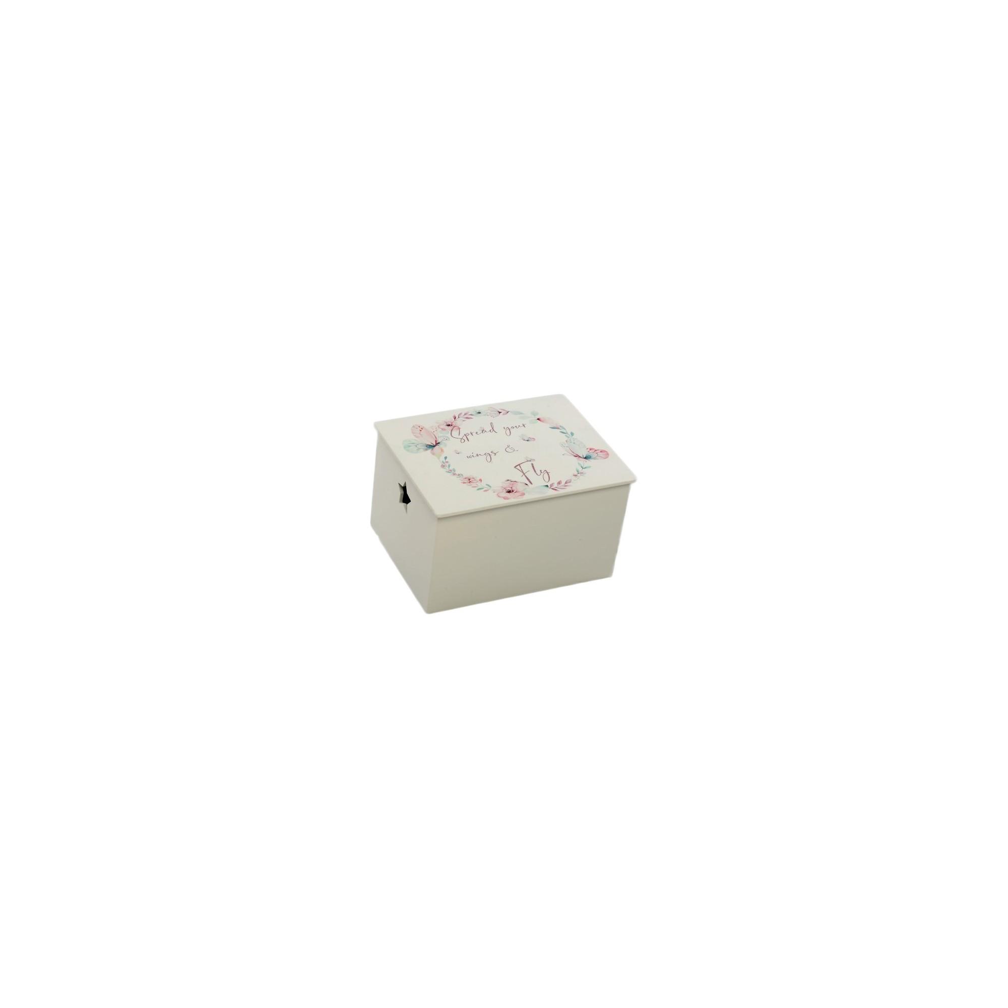 Κουτί βάπτισης Floral - Z-625