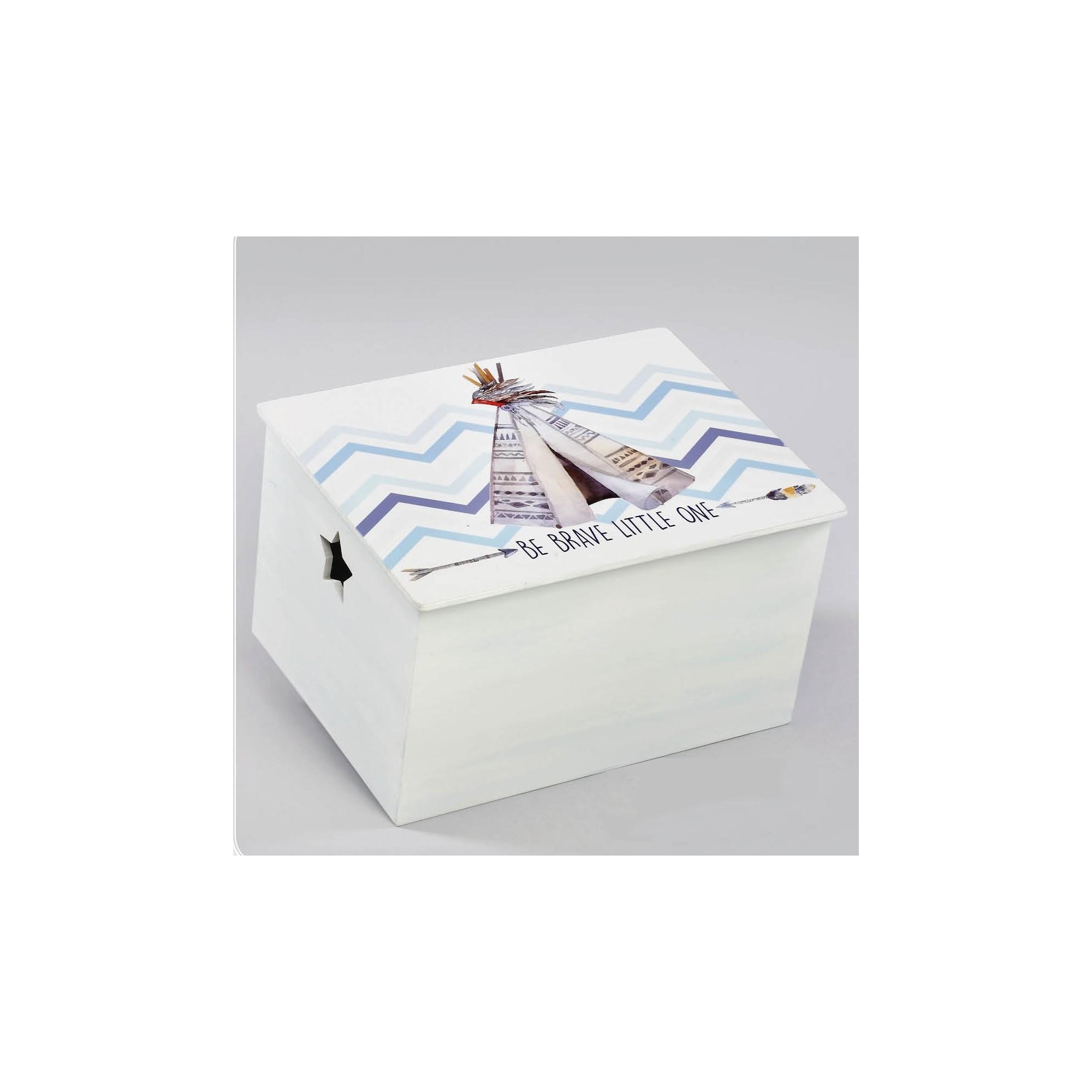 Κουτί βάπτισης Ινδιάνικη Σκηνή - Z-559