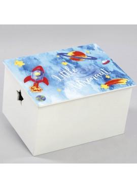 Κουτί βάπτισης Μικρός Αστροναύτης - Z-564