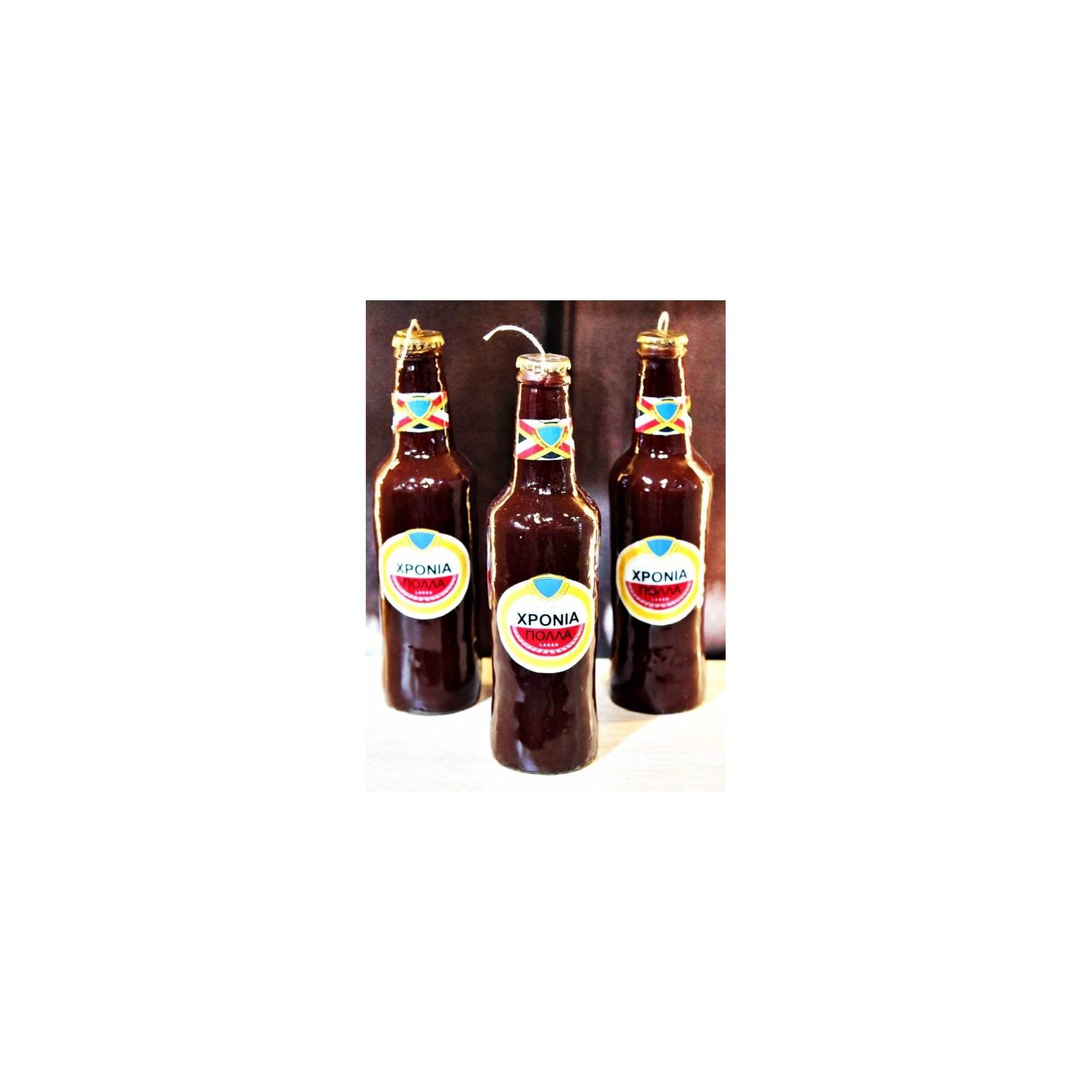 Λαμπάδα μπύρα μπουκάλι - G2575