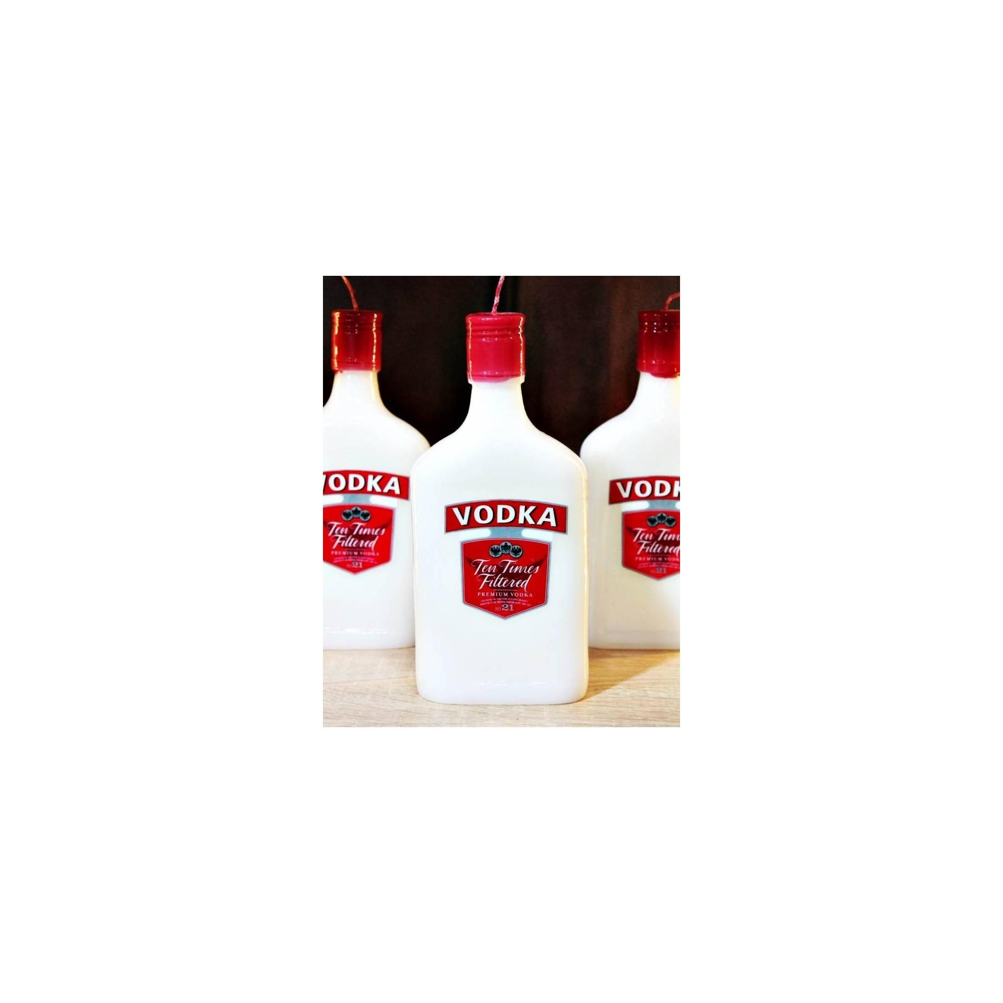 Λαμπάδα μπουκάλι βότκα - G1832