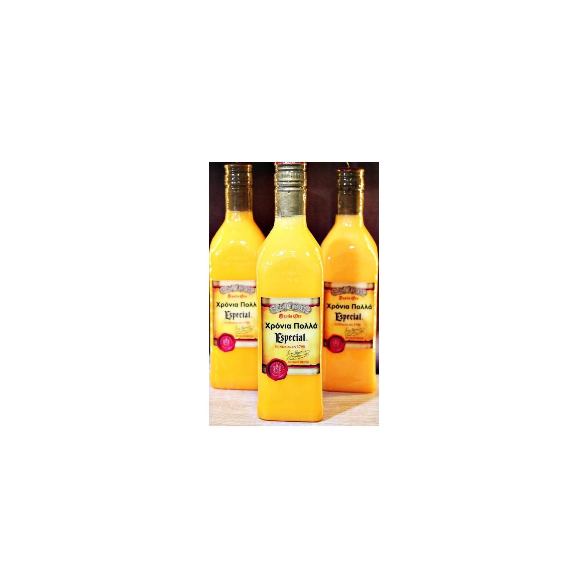Λαμπάδα μπουκάλι τεκίλα - G1555