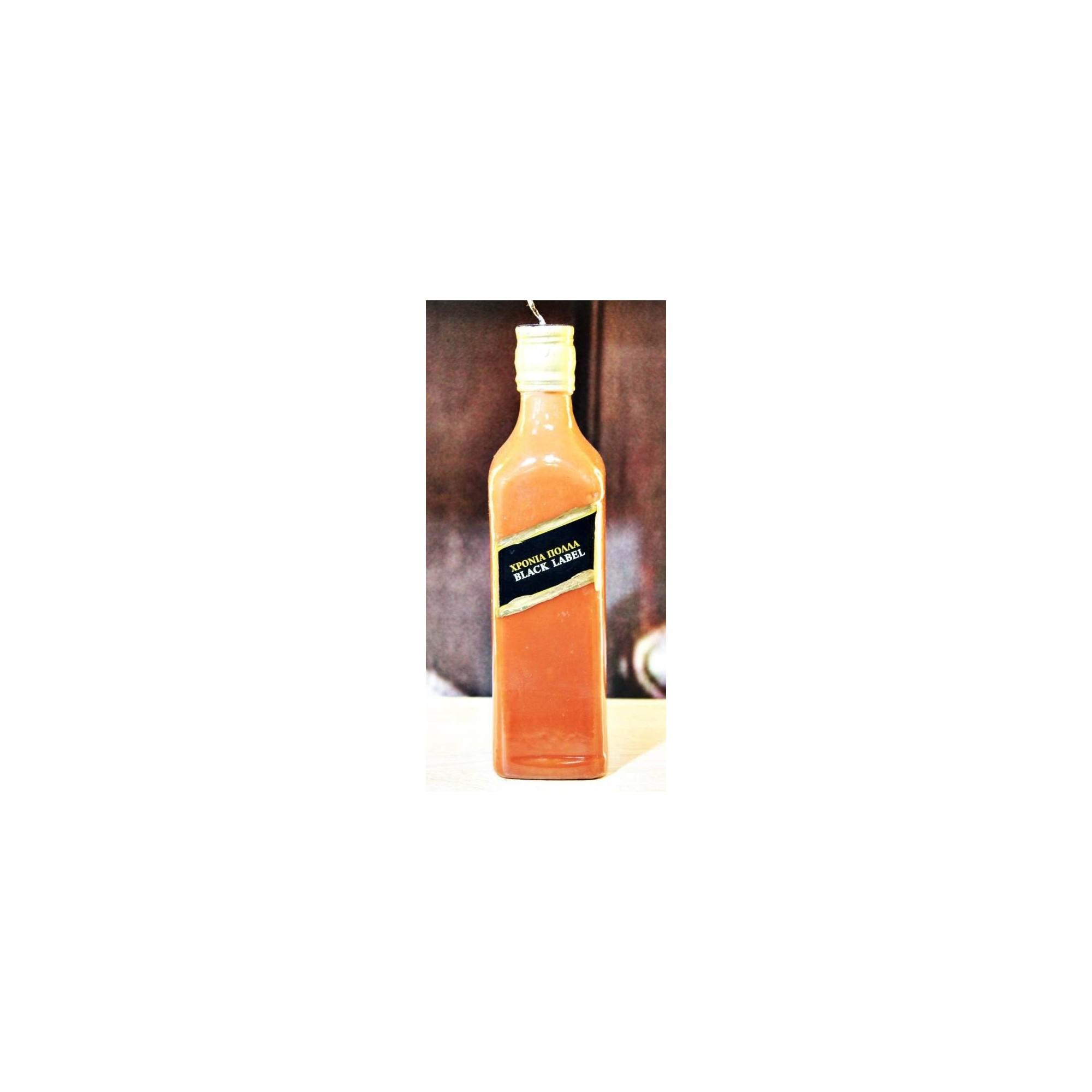 Λαμπάδα μπουκάλι ουίσκι - G2912