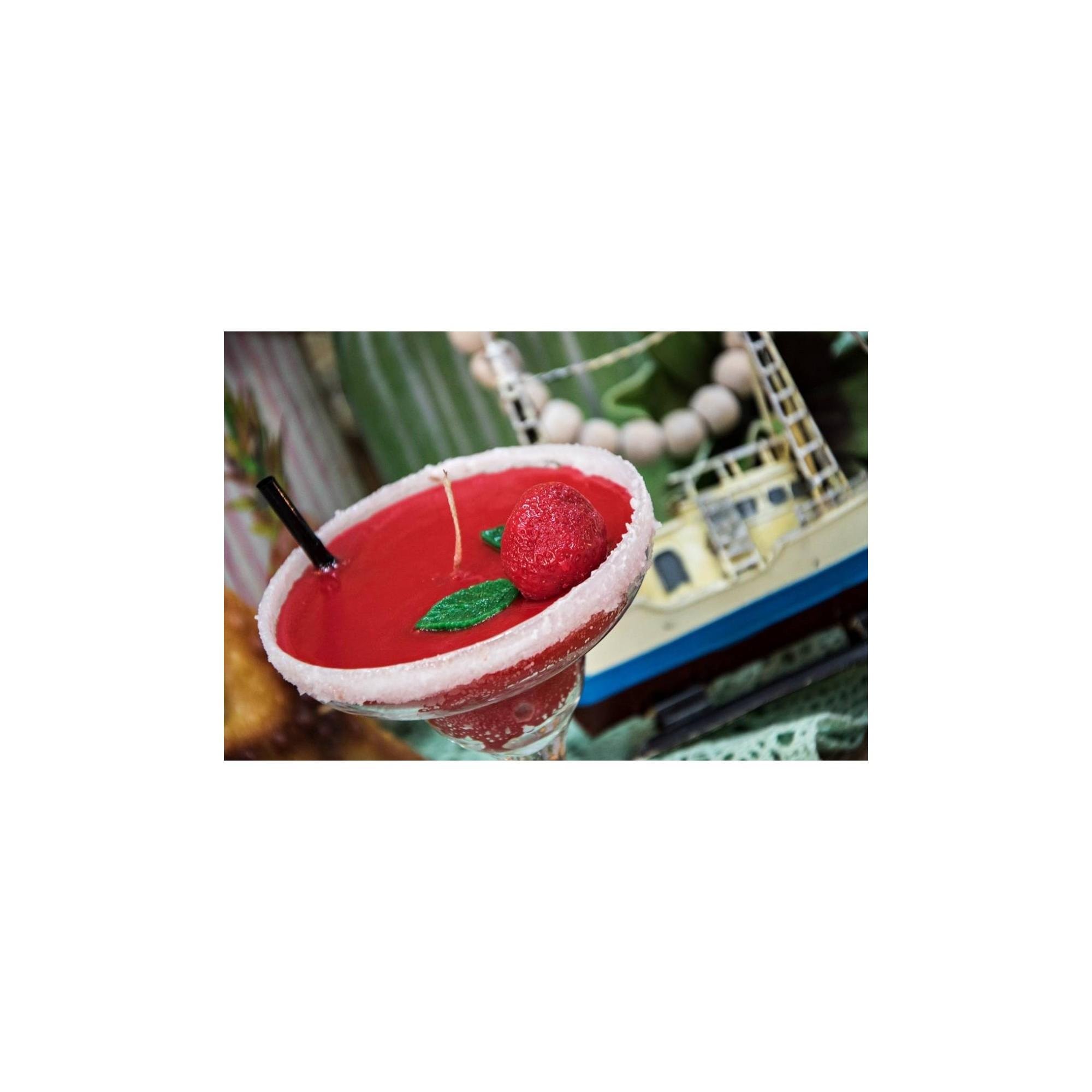 Λαμπάδα ποτήρι κοκτέιλ μαργαρίτα - G1026