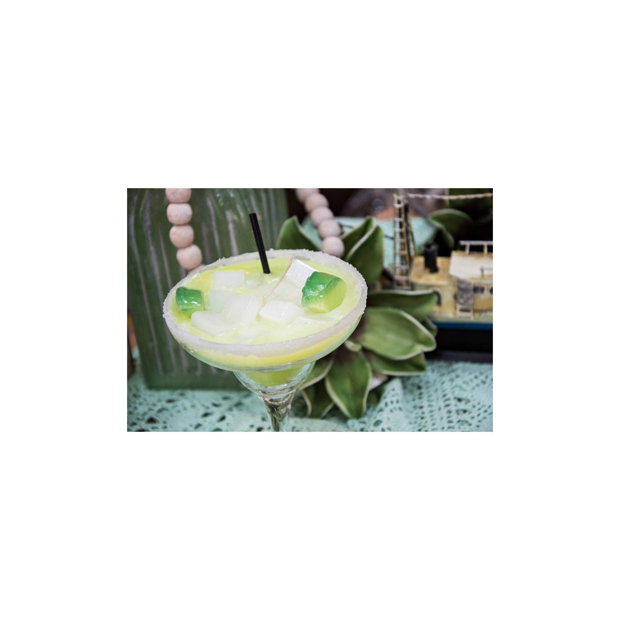 Λαμπάδα ποτήρι κοκτέιλ μαργαρίτα - G0873