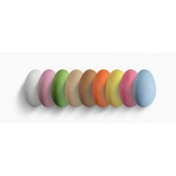 Κουφέτα Choco Almond Πολύχρωμα (4kg) - LWG-X1701-4