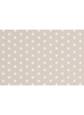 Ύφασμα Λευκά Αστέρια - NT-308203