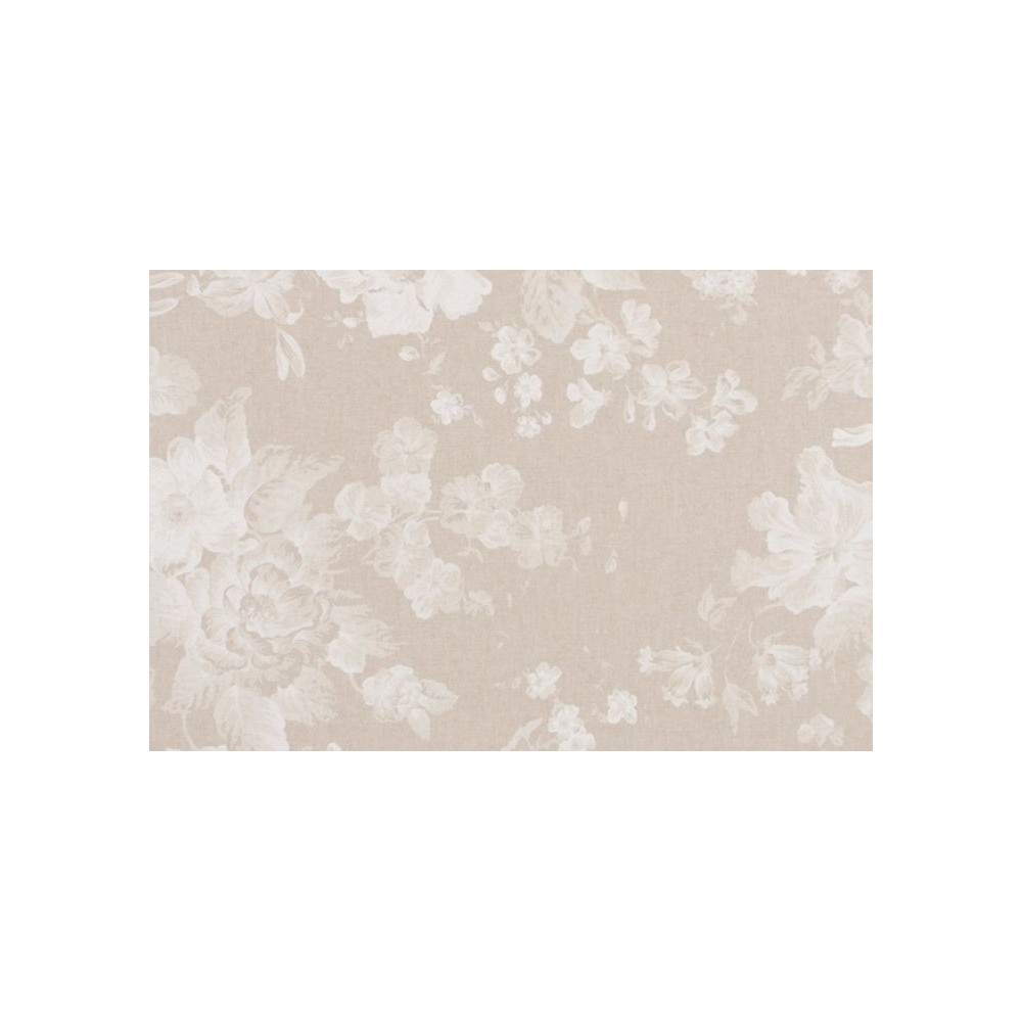 Ύφασμα Λευκό Λουλούδι - NT-308142