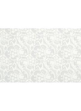 Ύφασμα Λευκή Δαντέλα - NT-308399