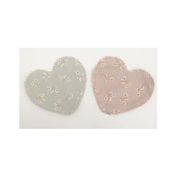 Πουγκί Καρδιά με Μικρό Άνθος - PP-0527228