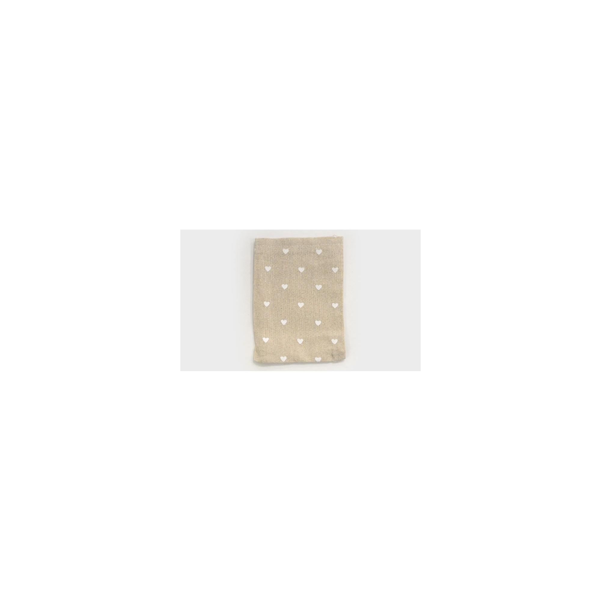 Πουγκί με Λευκές Καρδούλες - PP-0527166