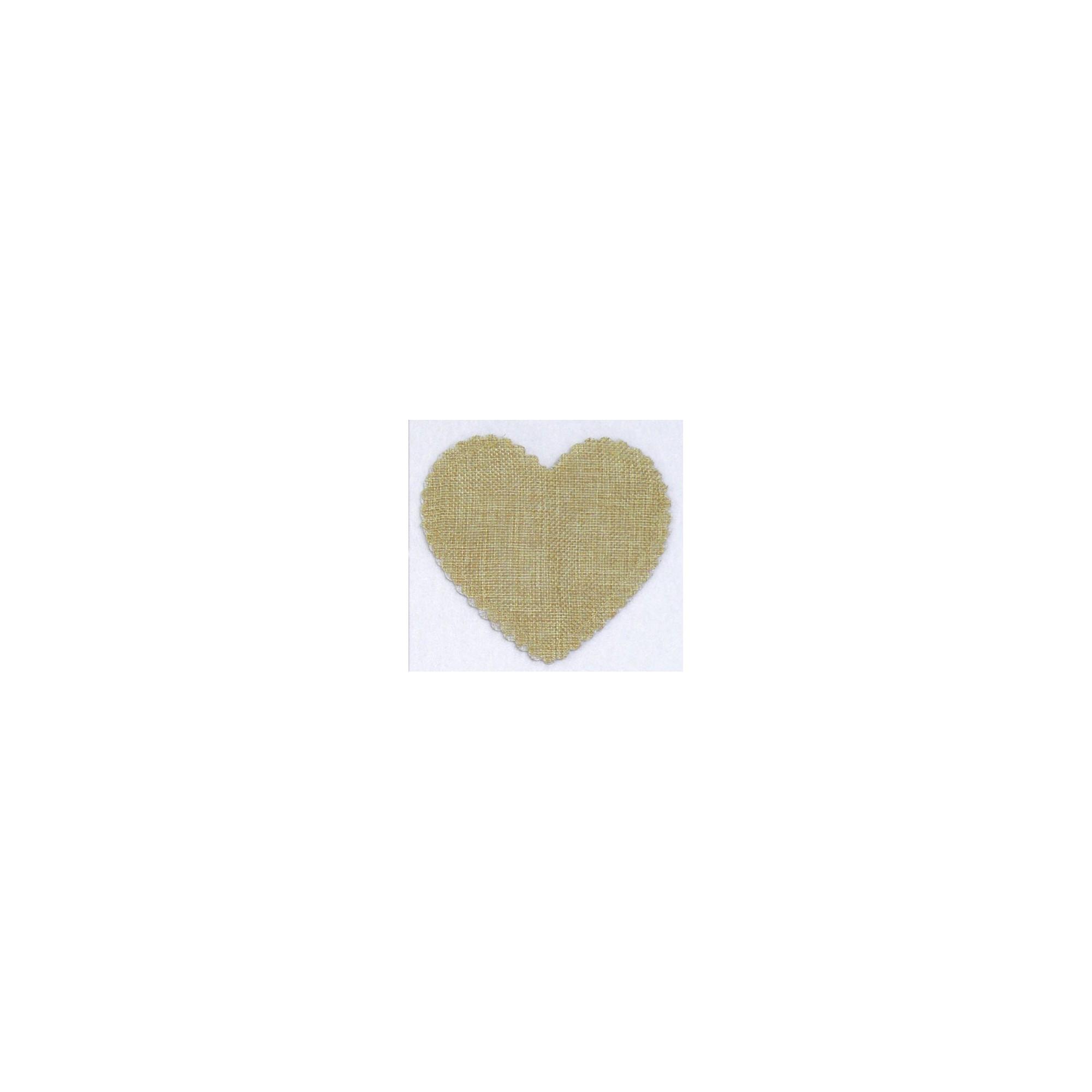 Πουγκί Καμβάς Καρδιά - PP-0527115