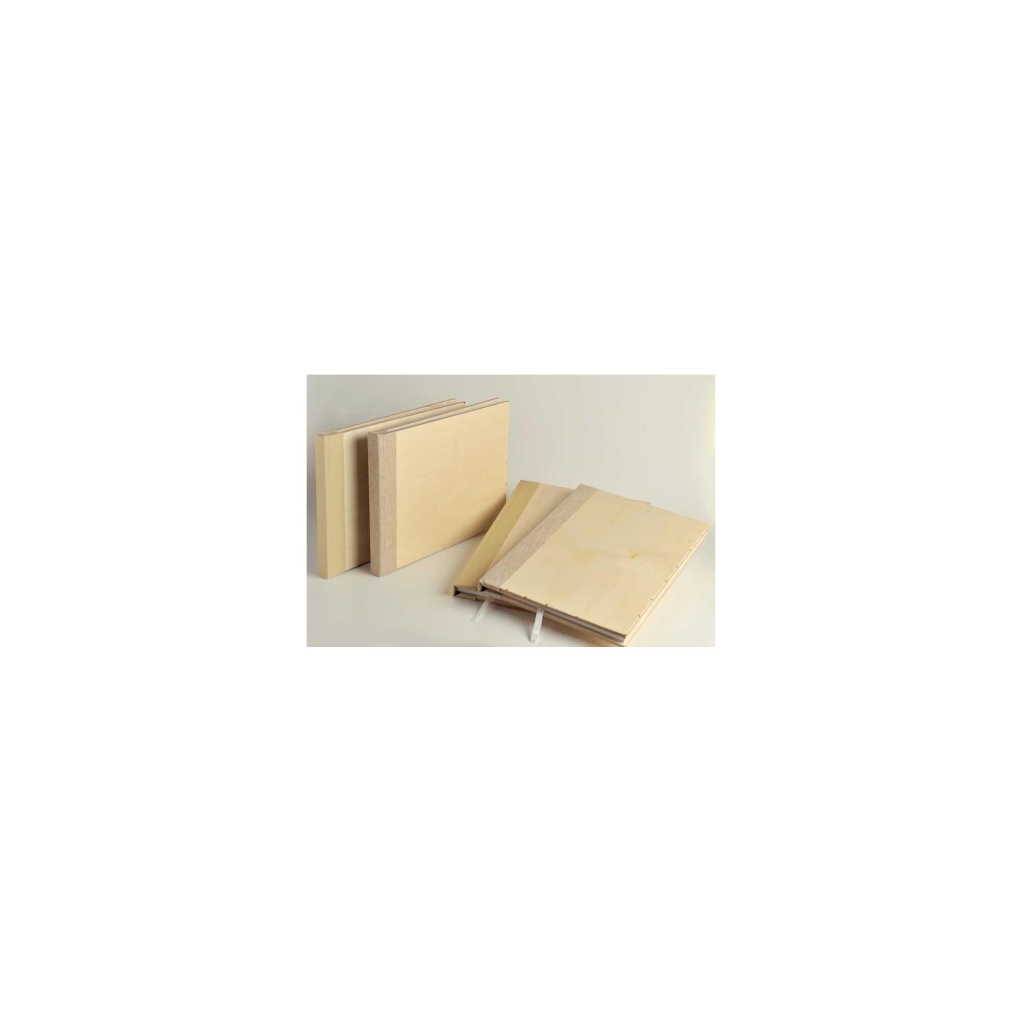 Ξύλινο Βιβλίο Ευχών - NT-2728