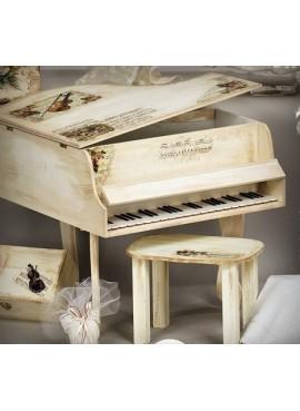 Κουτί Βάπτισης Πιάνο - BL-LT55