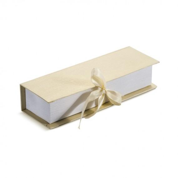 Κασετίνα για πρόσκληση & μπομπονιέρα με σατέν επένδυση - PAR-81403-02/01