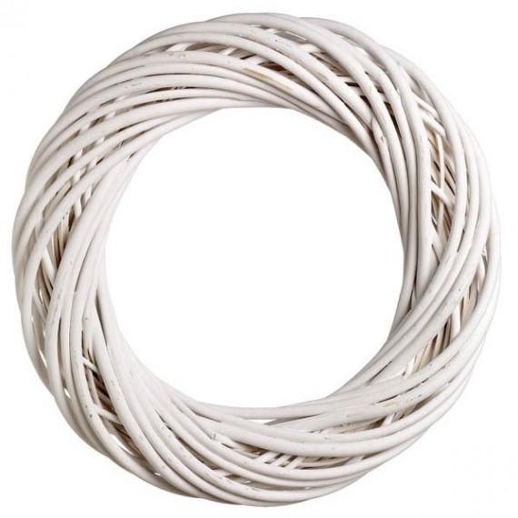 Στεφάνι Βέργινο Λευκό - JK-50721