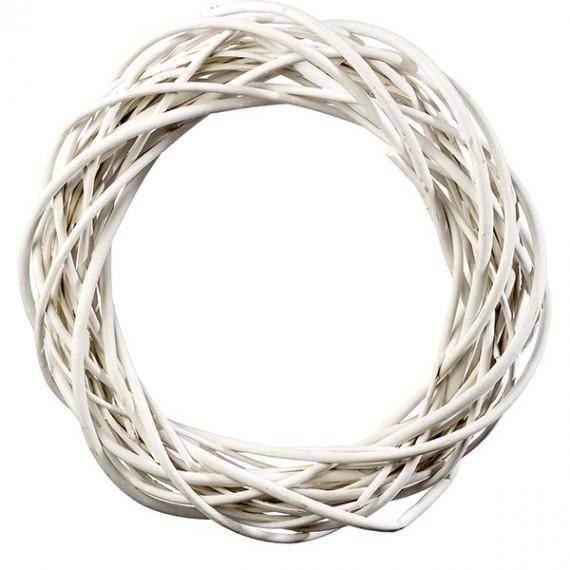 Στεφάνι Βέργινο Λευκό - JK-50720