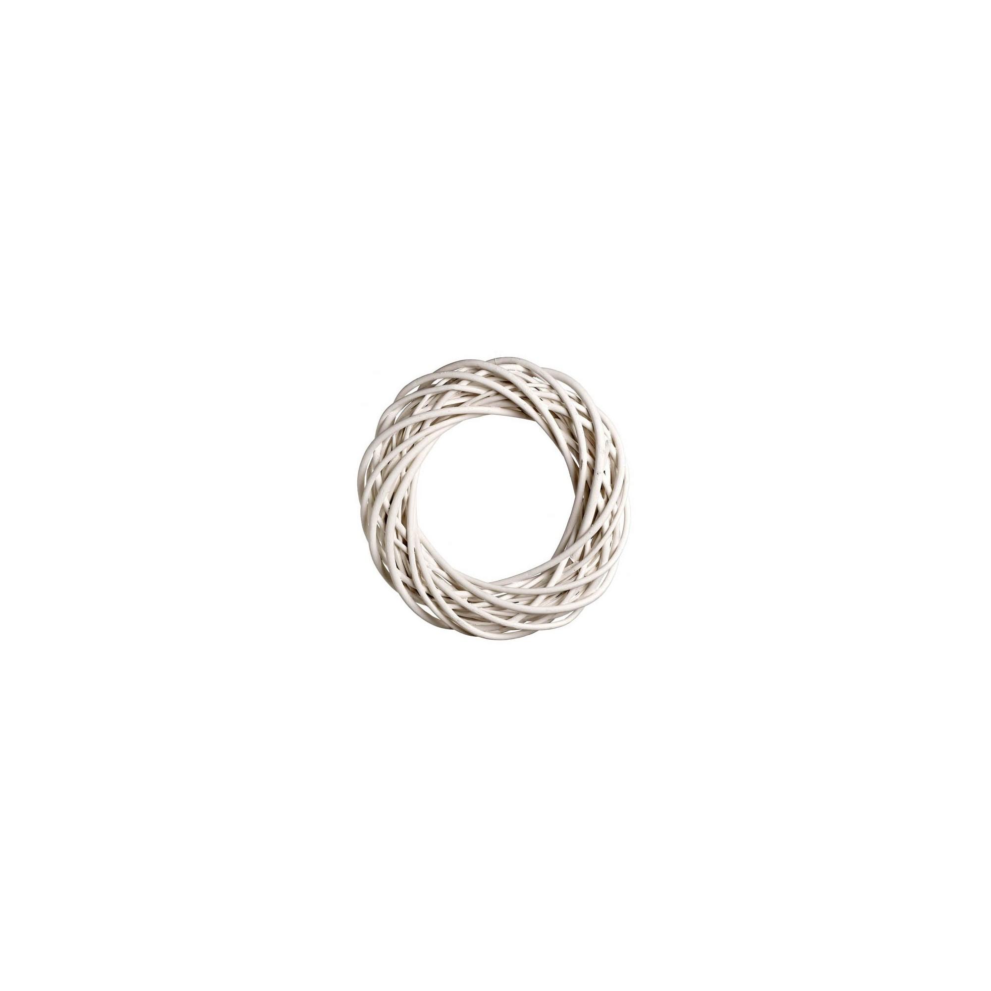 Στεφάνι Βέργινο Λευκό - JK-50718