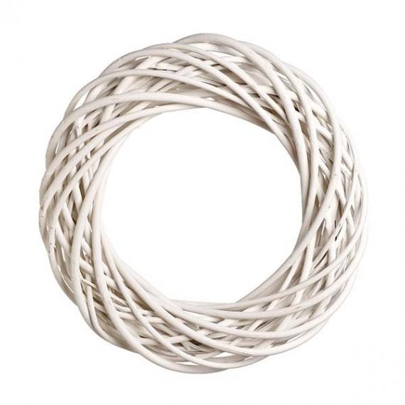 Στεφάνι Βέργινο Λευκό - JK-50717