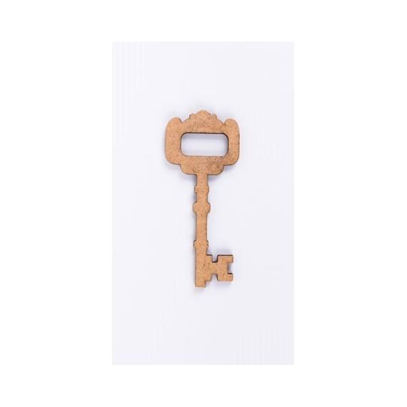 Ξύλινο Κλειδί 78mm - ΝΤ-890383