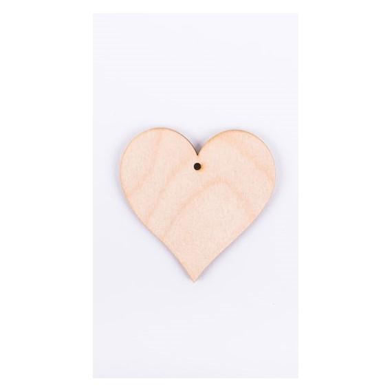Ξύλινη Καρδιά 6cm - ΝΤ-891614